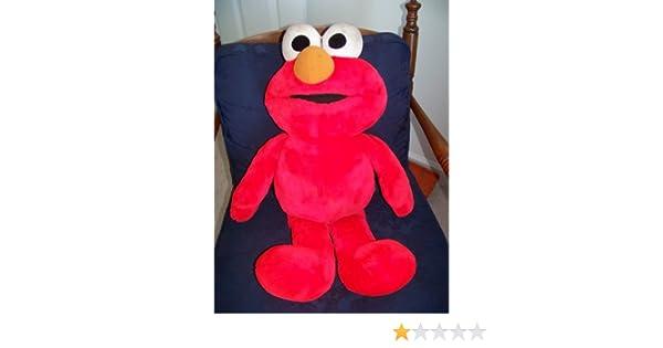 Elmo Jumbo 25 Sunny Days Plush Singing Talking with Tags Tyco