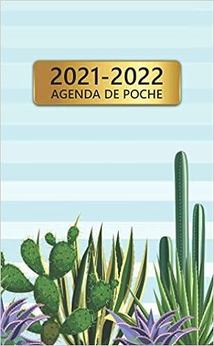 2021 2022 Agenda De Poche: 24 Mois Calendrier Mensuel | Adorable