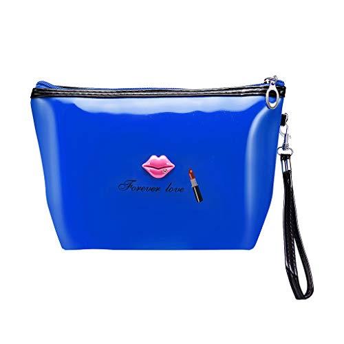 Pengy Women Makeup Bag Multi-Function Bag Travel Storage Hand-Held Printing Ladies Makeup Storage Bag