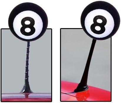 Tenna Tops© Pool Bola de Billar 8 Coche decoración Antena ...