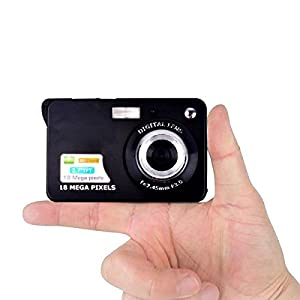 Mini Digital Camera,Bigaint 18MP 8x Digital Zoom Cameras with 2.7inch TFT LCD Display-Black