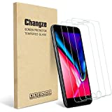 Changze Screen Protector for iPhone 6 Plus,6s Plus,7 Plus,8 Plus (5.5inch) Premium Tempered Glass 3-Pack