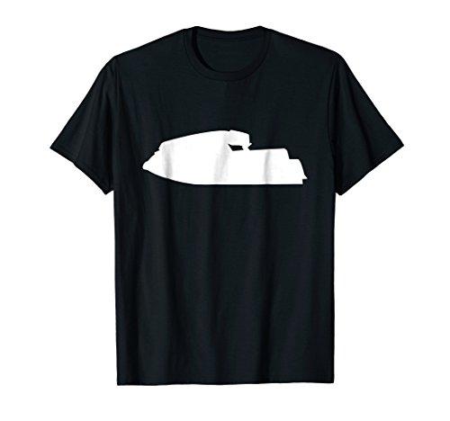 Standup Jet Ski Retro JS 550 Silhouette T-Shirt