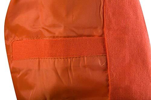 Giacche Elegante Risvolto Arancia Sportiva Moderna Da Lunghe Uomo Casual Haidean Giacca Lavoro A Maniche Con gxfwSA1nq