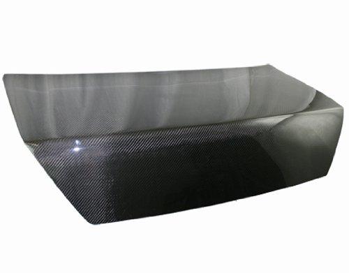 Accord Vis Oem Carbon Fiber (VIS Racing 98-02 Honda Accord (2 door) OEM Shaved Carbon Fiber Trunk Lid (98HDACC2DOES-020C))