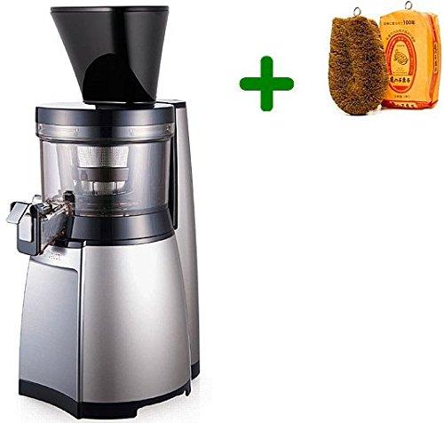 Extractor de zumos Hurom HT SBE/EBE/IBE14 Slow Juicer + Cepillo para verduras (Plata): Amazon.es: Hogar