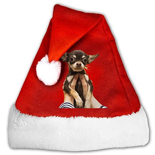 FQWEDY Pride Great Dog Lover Unisex-Adult's Santa Hat,