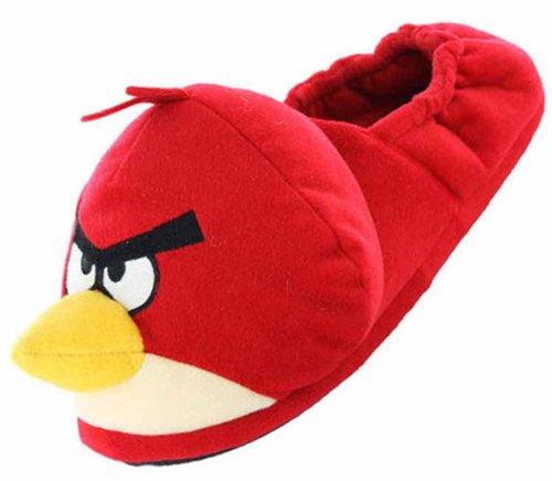 Uwear Herren Socken Birds geschlossene Hausschuhe Angry Rot UK 3D 9 UCqCxPw