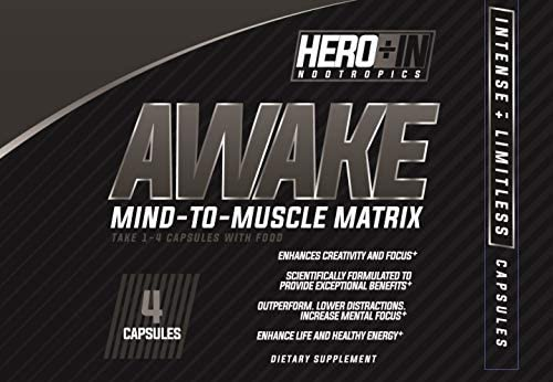 Awake Creativity nootropic Extreme Mental Focus Clarity Plus Healthy Energy Essential Vitamin Minerals Nutrition Promote Metabolism cognition Memory Mental Balance Preworkout Alternative No Crash*
