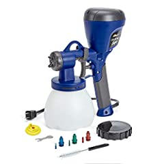The new Super Finish Max does it all. From furniture and cabinets to fences and walls, this sprayer can cover a wider array of projects and coatings with less thinning and hassle. This High Volume, Low Pressure (HVLP) sprayer has a turbine mo...