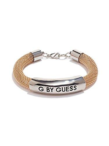 G by GUESS Women's Mesh Chain Logo Bracelet