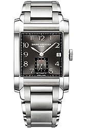 Baume & Mercier Men's BMMOA10048 Hampton Analog Display Swiss Automatic Silver Watch