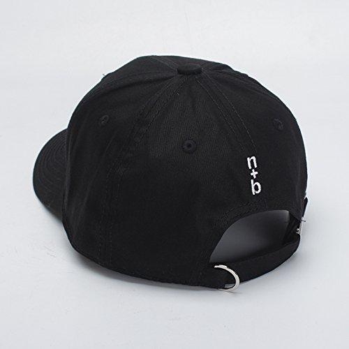 Gorra Bordado Béisbol De Hip Caps Hombre mznwpm De Snapback Casual Mujeres Hop Algodón Hat Para Hombres Baseball Boy OxBIq