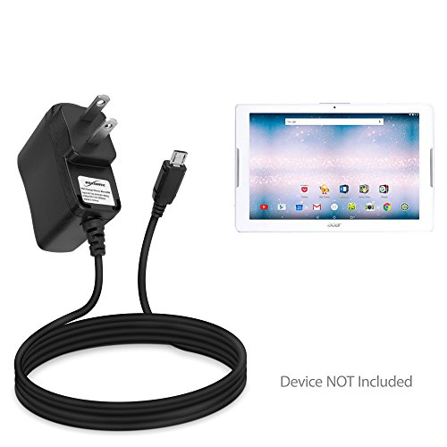 (Acer Iconia One 10 (B3-A30) Charger, BoxWave [Wall Charger Direct] Wall Plug Charger for Acer Iconia One 10 (B3-A30))