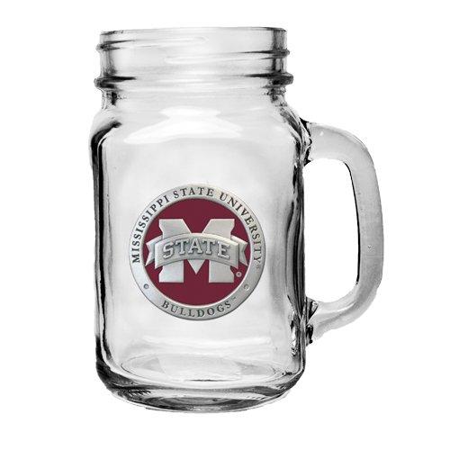 Heritage Pewter Mississippi State Bulldogs Mason Jar Mug