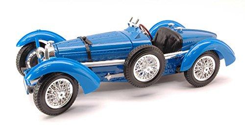 BUGATTI TYPE 59 1934 blu 1 18 - Burago - Auto d'Epoca - Die Cast - Modellino
