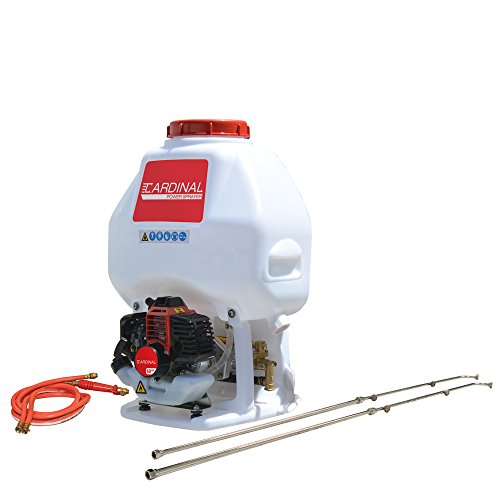 Cardinal CPS435 Gas Powered Backpack Sprayer with 6.5 Gallon Tank for Pest Control (Includes Wands) ()