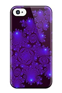 New Style BenjaminHrez Hard Case Cover For Iphone 4/4s- Fractal