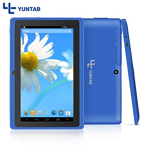7 inch Tablet, Quad Core Processor, 1GB RAM 8G ROM, with WiFi, GPS and Dual Camera (Blue)