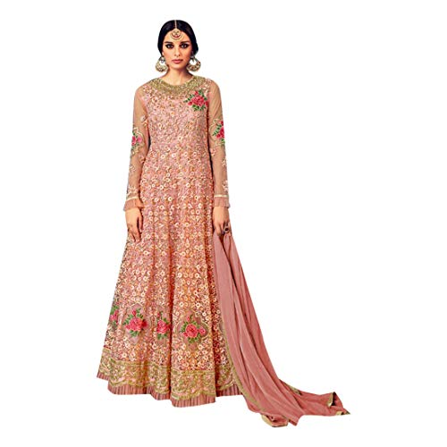 Net Partywear Abiti Salwar EMPORIUM ETHNIC Rakhi 2855 Collezione Kameez lunghi Eid Festival Anarkali Floor Touch fg8AxqTw