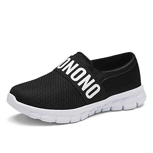 Zengvee Women's Walking Shoes Lightweight Casual Flats Loafer Sneakers Breathable Mesh Slip-On Shoes