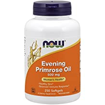 NOW Evening Primrose Oil 500 mg,250 Softgels