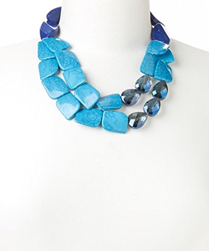 lux-accessories-blue-crackled-stone-two-strand-necklace
