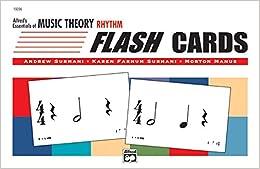 Alfred's Essentials of Music Theory: Rhythm Flash Cards