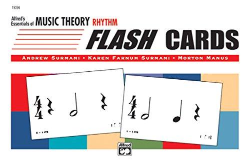 (Alfred's Essentials of Music Theory: Rhythm Flash Cards, Flash Cards)