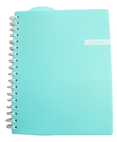 Studio C Carolina Pad College Ruled Executive Notebook, Noted (Mint Green, 8 Inches x 9.75 Inches, 100 Sheets, 200 Pages) by Studio C