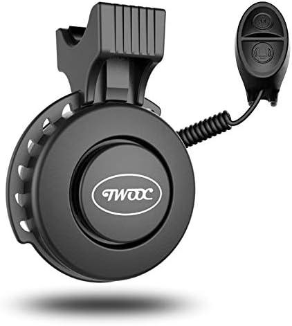 hah Fahrradglocke elektrische Fahrradklingel Laut Lautstärke ABS MTB Rennr