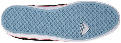 Emerica - Zapatillas de Piel para hombre US blanco/negro