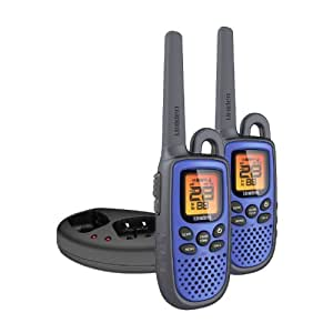 Uniden GMR2238-2CK 22-Mile GMRS Water Resistant Two-Way Radio Blue