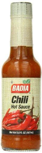 Badia Chili Hot Sauce, 5.6 Ounce (Pack of 12) (Badia Sauce)