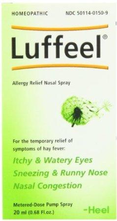 Luffeel, Allergy Relief Nasal Spray