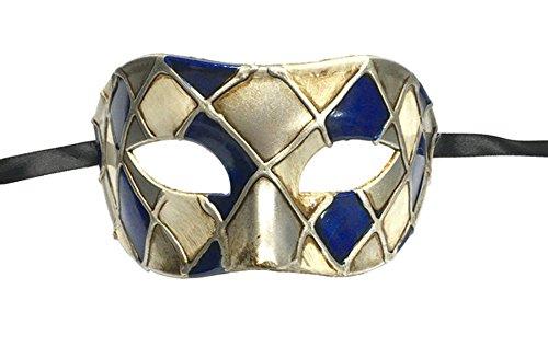 [Luxury Mask Men's Vintage Design Masquerade Mask] (Masquerade Mask Men)