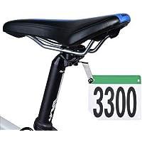 thinvik de bicicletas Titular de la matrícula Soporte Número para Ciclismo