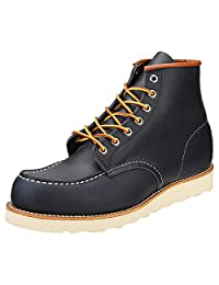 e604259b43d Red Wing Mens 6-Inch Moc Leather Boots