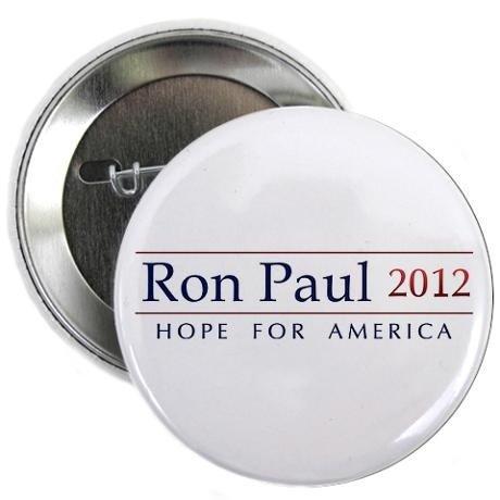 Ron Paul 2012 Beautiful Pin - 1.5