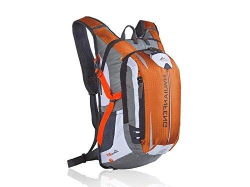 OVIIVO Bike 18L Hydration Bladder Backpack Adjustable Tactical Water Backpack for Biking Cycling Travel Hiking (Orange) by OVIIVO