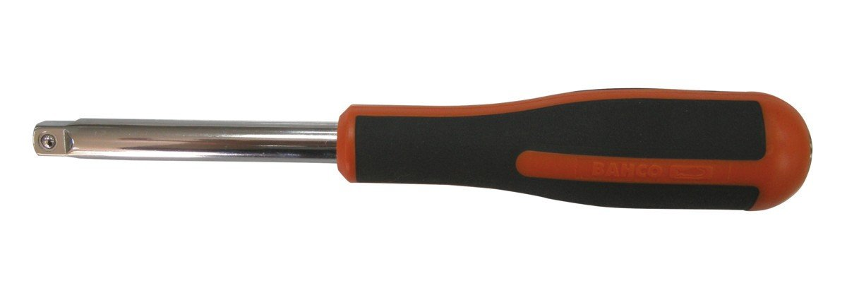 Black//Red Bahco 6956 1//4-Inch Spinner Handle 150 mm