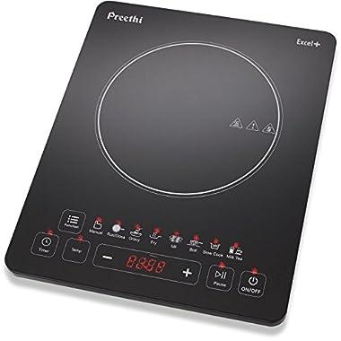 Preethi Excel Plus 117 1600-Watt Induction Cooktop (Black) 5
