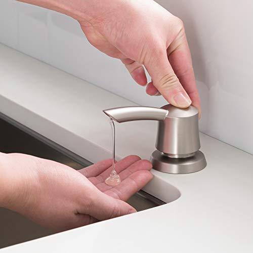 Kraus Kitchen Soap Dispenser Savan in all-brits Spot Free Stainless Steel