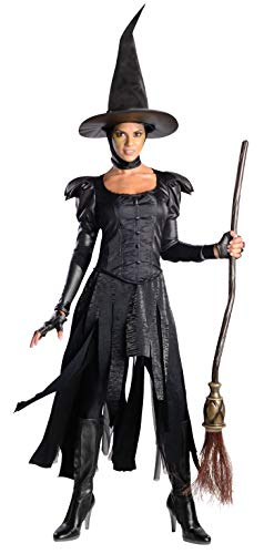 Rubie's Costume Disney's Oz The Great and Powerful Deluxe Teen Wicked Witch Of The West Dress and Hat, Black, Teen -