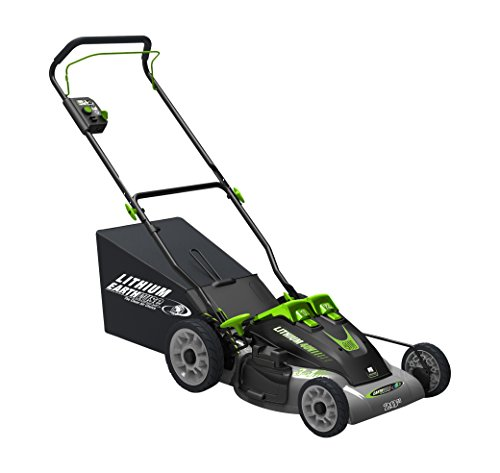 (Earthwise 60420 20-Inch 40-Volt Lithium Ion Cordless Electric Lawn Mower)