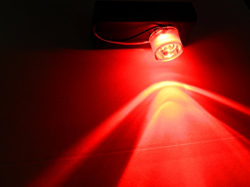Red 1w Mini LED Battery Operated Flood Light for Halloween Props