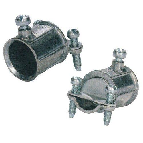 2-1//2 Trade Size Steel Morris Products 14906 EMT Set Screw Coupling