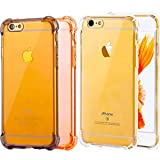 """[3Pack]Impact Resistant clear Cover iPhone 6 6s Card Case,ibarbe Protective Shell Shockproof Heavy Duty TPU Bumper Case Anti-scratches EXTREME Protection Cover Heavy Duty Case for iPhone 6 6S 4.7"""""""