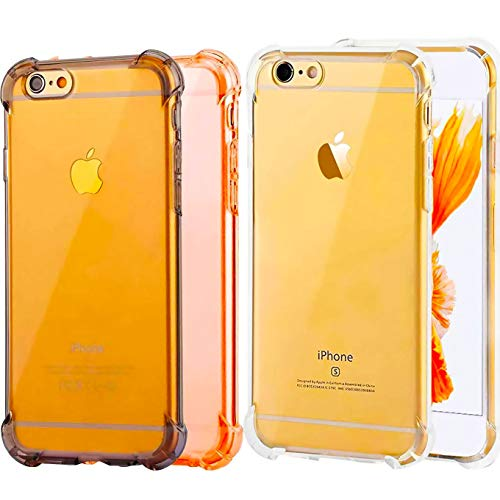 Impact Resistant clear Cover iPhone 6 6s Card Case,ibarbe Pr