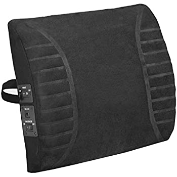 Amazon Com Relaxzen 10 Motor Massage Seat Cushion With